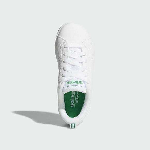 Adidas KIDS VS ADVANTAGE CLEAN SHOES AW4884 e1937ed401c16